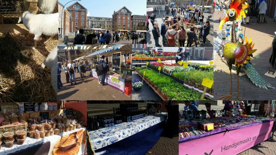 Duurzame Lentemarkt Wageningen 2019