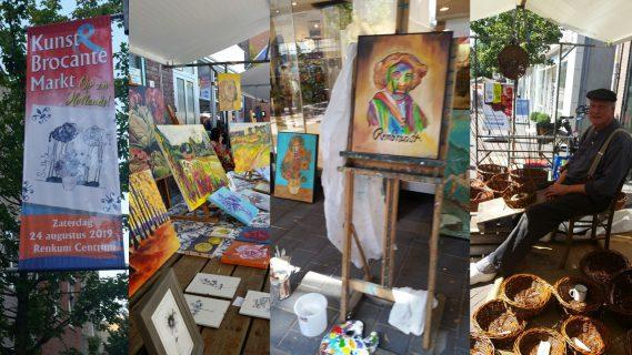 Kunst- en Brocante markt Renkum 2019