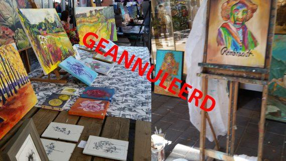 Kunst- en Brocante      markt Renkum 2020